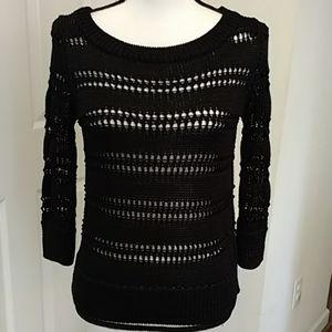 NWT WHBM  Sweater Black Size Medium